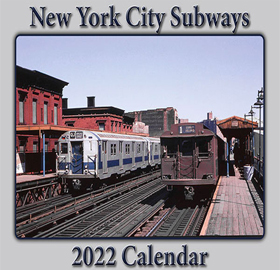 2022 Subway Calendar