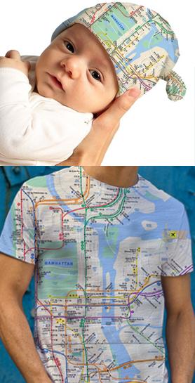 New York Subway Map Gifts